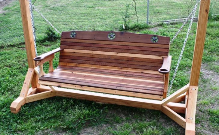 Porch Swing Frames Ideas Stand Kit Round