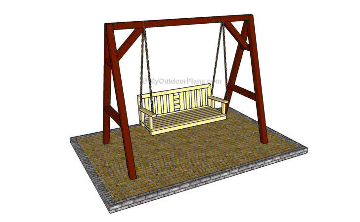 Porch Swing Plans Outdoor Diy Shed
