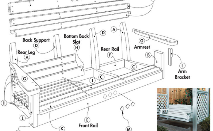 Porch Swing Plans Woodwork City Woodworking