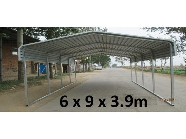 Portable Carport Capless Roof Suitable Any