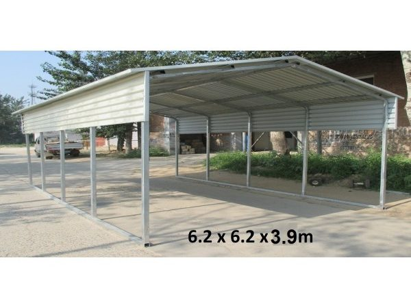 Portable Carport Gable Roof Suitable Any