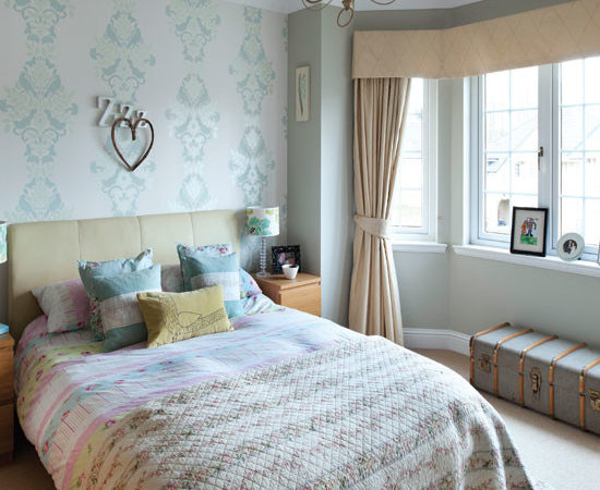 Pretty Country Style Bedroom Ideal Home