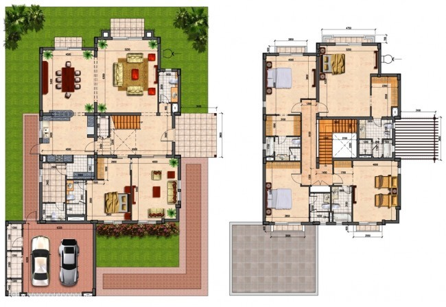 Prime Villas Floor Plans Semi Detached Bedrooms