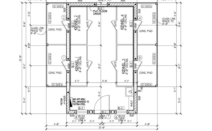 Production Drafting Cat Kennel Plans Start Finish