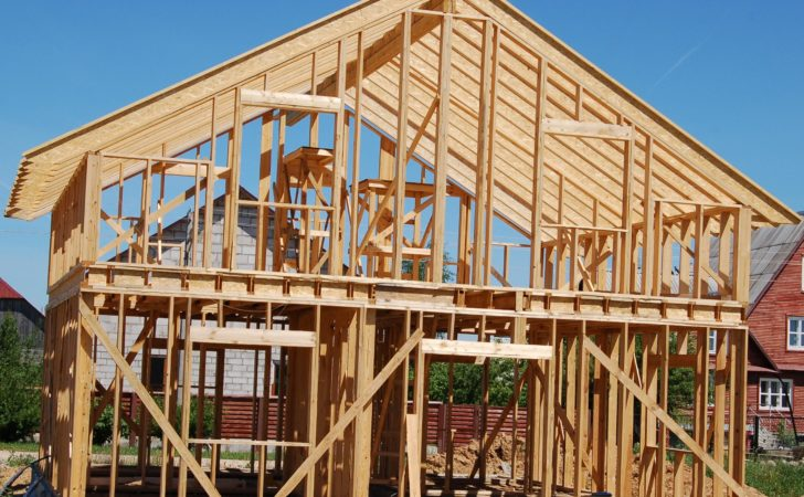 Production Frames Wooden Houses