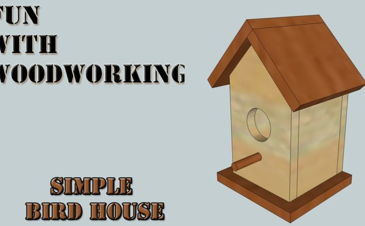 Project Make Quick Simple Easy Bird House