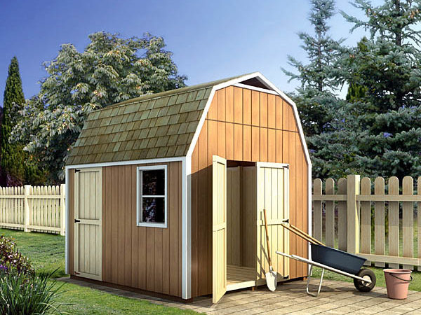 Project Plan Gambrel Shed