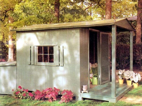 Project Plan Storage Shed