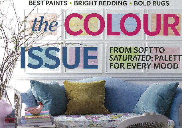 Published Canadian House Home March Issue