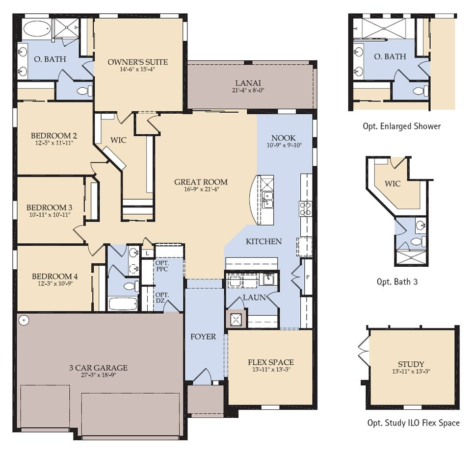 Pulte Homes Floor Plans Houses Flooring Ideas