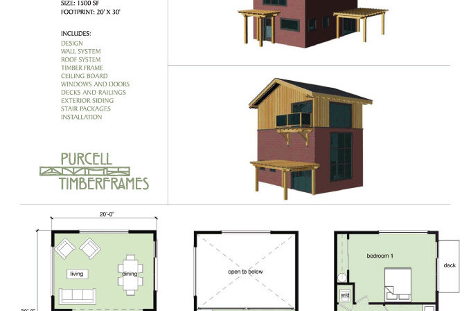 Purcell Timber Frames Home Packages Town Loft
