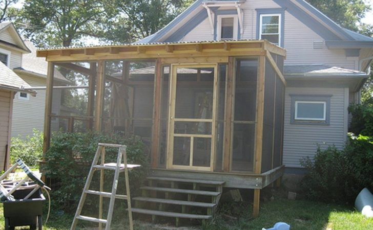 Put Diy Screen Porch