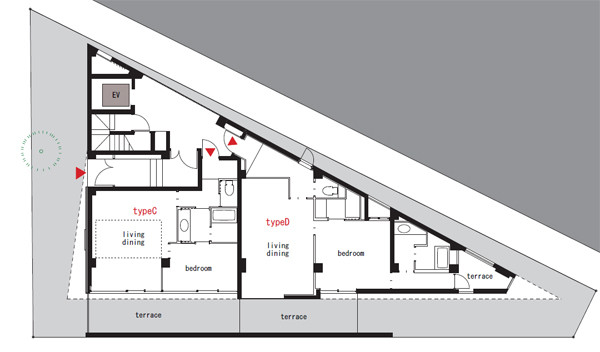 Pyramid House Plans Floor
