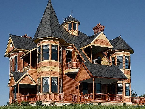 Queen Anne Victorian Designed But Built