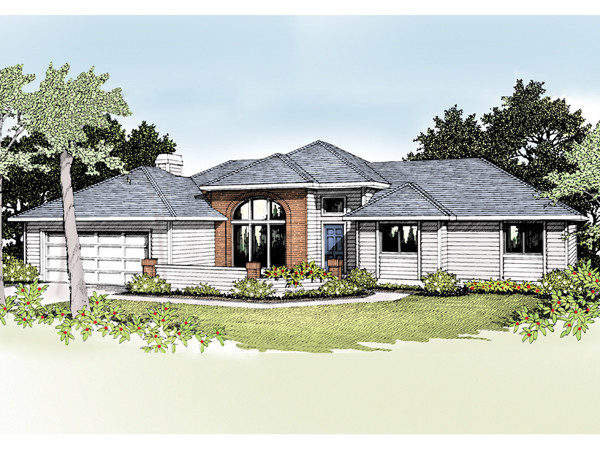 Quincy Modern Ranch Home Plan House Plans More