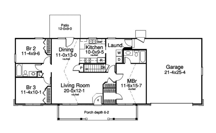 Ranch Floor Plans Amazing Style House