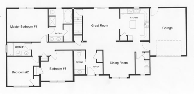 Ranch Floor Plans Monmouth County Ocean New