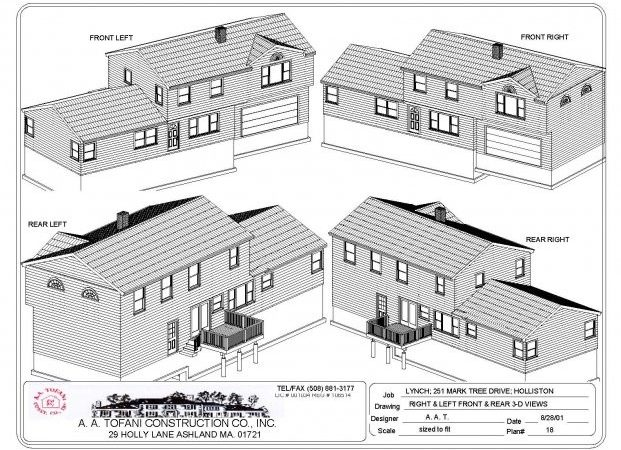 Ranch House Addition Plans Design