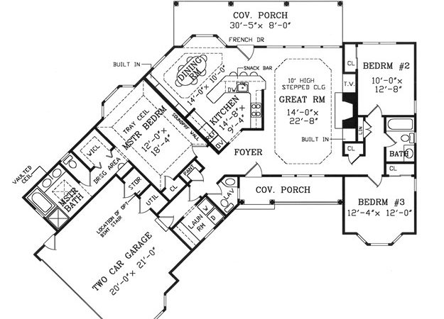 Ranch House Plan Ultimate Home Plans