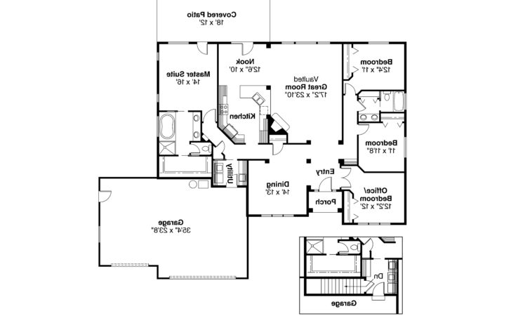 Ranch House Plans Clearfield Associated Designs