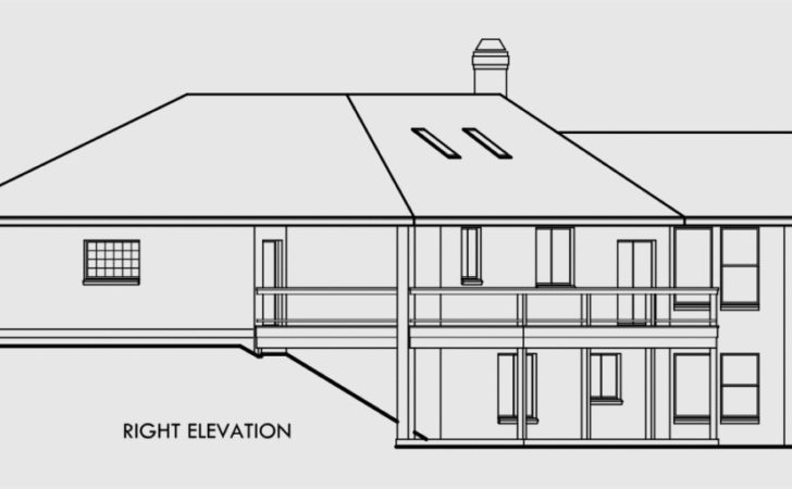 Ranch House Plans Daylight Basement Sloping