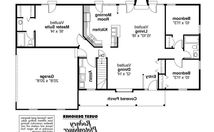 Ranch House Plans Glenwood Associated Designs