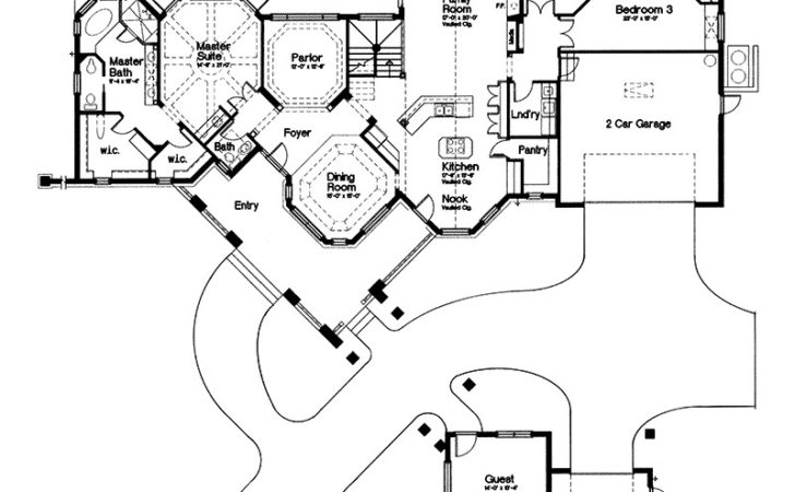 Ranch House Plans Kingsley Associated Designs Guest