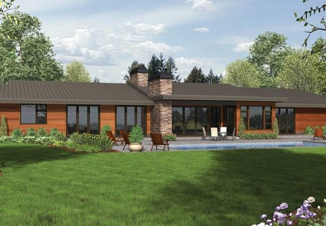 Ranch House Plans Modern Cottage