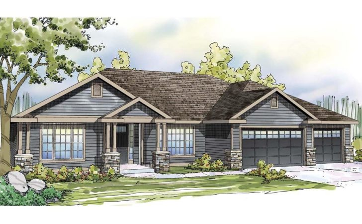 Ranch House Plans Oak Hill Associated Designs