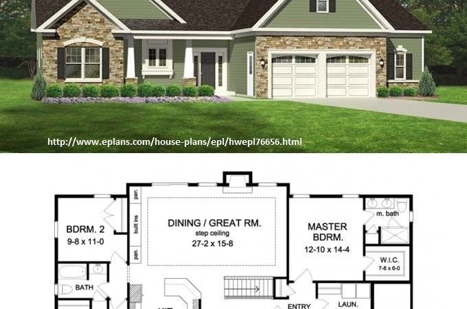 Ranch House Plans Picmia