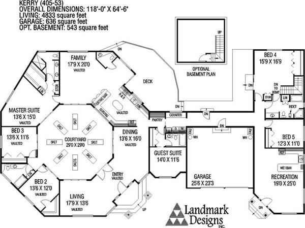 Ranch House Plans Small Area Magruderhouse