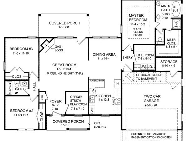 Ranch House Plans Style Home Design