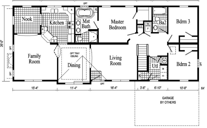Ranch House Remodel Floor Plans Architectural Designs