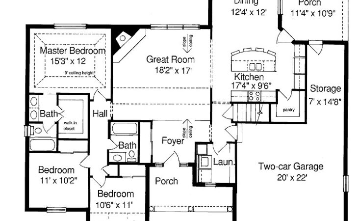 Ranch Style Homes Floor Plans House Design Ideas