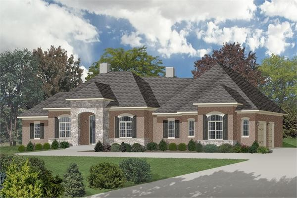 Ranch Style Homes Luxury Texas Home