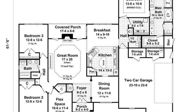 Ranch Style House Plans Basement Archives New