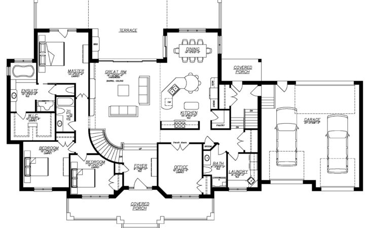 Ranch Style House Plans Basement