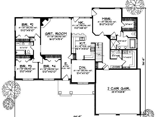 Ranch Style House Plans Plan
