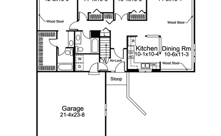 Ranch Style House Plans Shaped Design Ideas