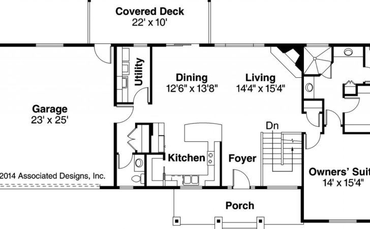Ranch Style House Plans Walkout Basement