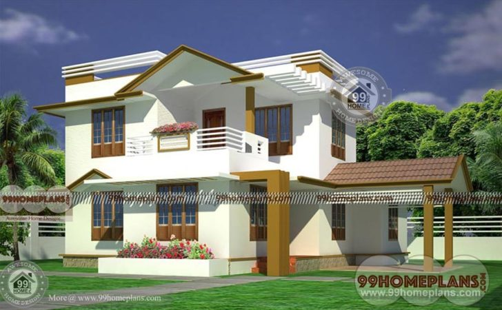 Ready Made House Plans Bhk Story Modern Indian