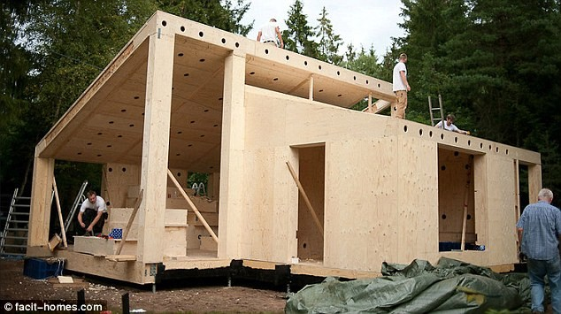 Real Diy Job Flatpack House Can Build Yourself