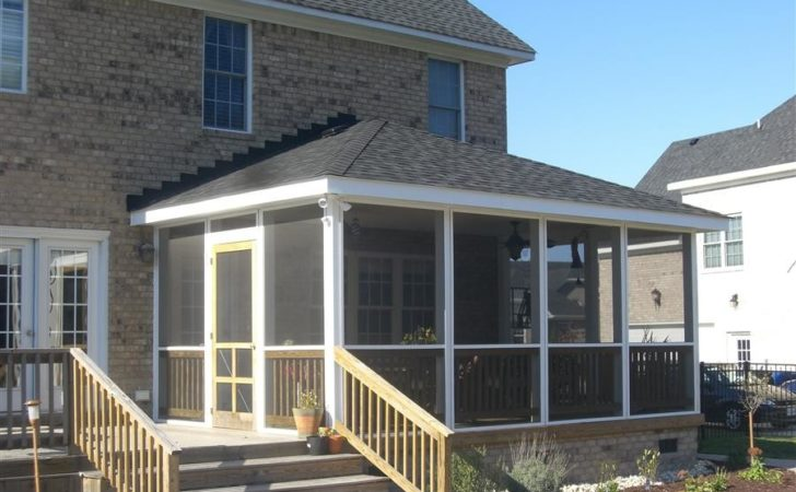 Realization Your Covered Porch Plans Build