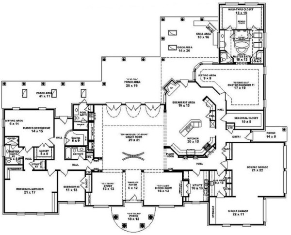 Really Like Layout Ouf House One