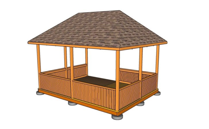 Rectangular Gazebo Plans Youtube