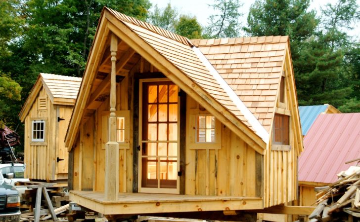 Relaxshacks Writer Haven Tiny Guest House Cabin