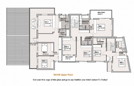 Remarkable Double Storey House Plans Floor Plan