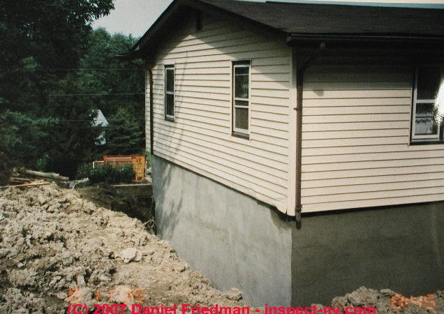 Repair Bulged Cracked Building Foundations Using