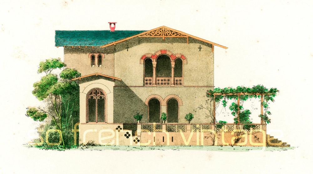 Reserved Country House Byzantine Style Sofrenchvintage