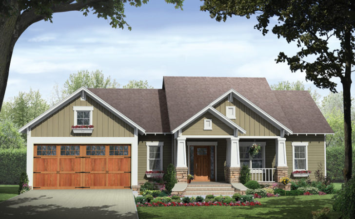 Ridgeforest Craftsman Home Plan House Plans